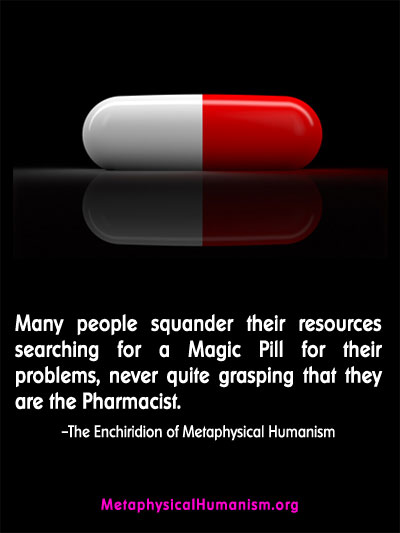MH Quotes Magic Pill